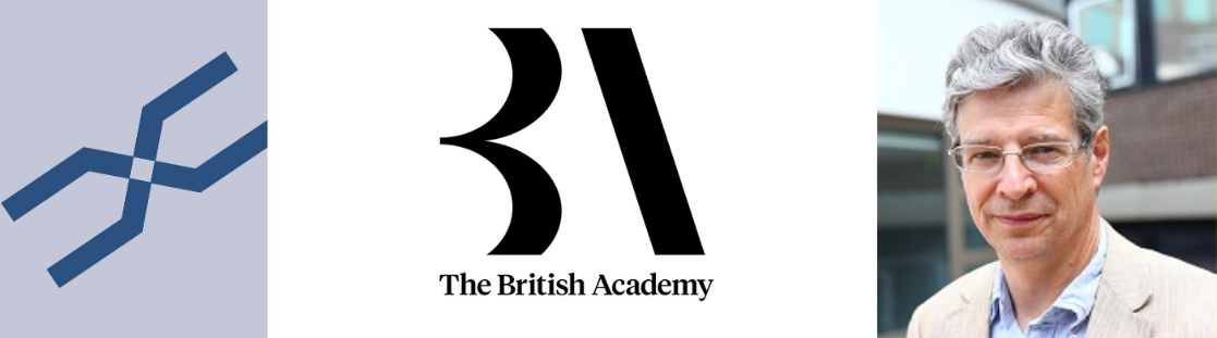 Professor Andrew Pickles and British Academy Logo